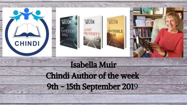 Copy of Isabella Muir Chindi's Author of the week 9th - 15th September 2019