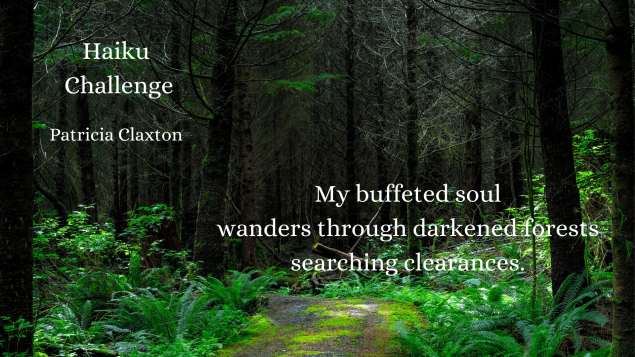 Haiku Challenge Patricia Claxton