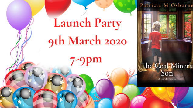 Launch Party 9th March 2020 7-9pm (1)