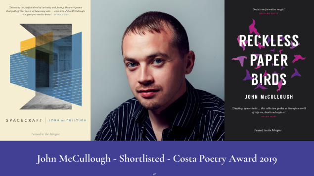 John McCullough - Costa Poetry Award 2019 - shortlisted